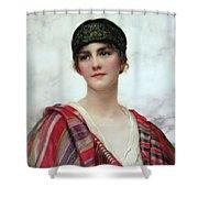 Cyrene Shower Curtain by William Clark Wontner