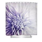 Dahlia Sun Shower Curtain by Priska Wettstein