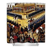 Dakota Uprising 1862 Shower Curtain by Granger
