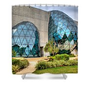 Dali Museum St Petersburg Florida  Shower Curtain by Mal Bray