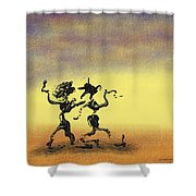 Dance I Shower Curtain by Manuel Sueess