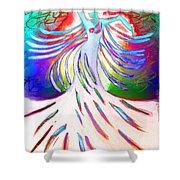 Dancer 4 Shower Curtain by Anita Lewis