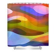 Dappled Light 10 Shower Curtain by Amy Vangsgard