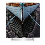 Dark waters Shower Curtain by Stylianos Kleanthous