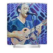 Dave Matthews Pop-op Series Shower Curtain by Joshua Morton