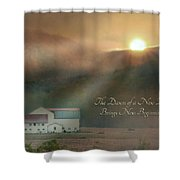 Dawn Shower Curtain by Lori Deiter
