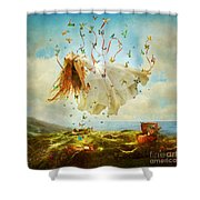 Daydreams Shower Curtain by Aimee Stewart