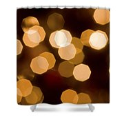 Dazzling Lights Shower Curtain by Rich Franco