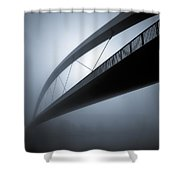 De Hoge Brug Shower Curtain by Dave Bowman