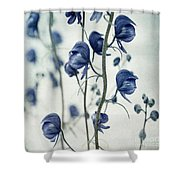 Deadly Beauty Shower Curtain by Priska Wettstein