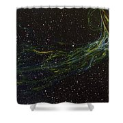 Death Throes Shower Curtain by Sean Connolly