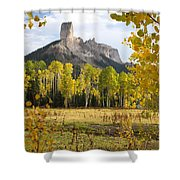 Deb's Meadow Shower Curtain by Eric Glaser