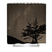 Deep Deep Deep Into The Night Shower Curtain by James BO  Insogna