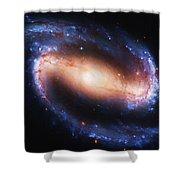 Deep Space Shower Curtain by Ayse Deniz