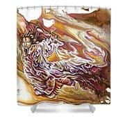 Defiance Shower Curtain by Karina Llergo