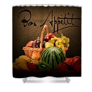 Delectable Sight Shower Curtain by Lourry Legarde