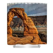 Delicate Arch Shower Curtain by Jeff Burton