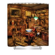 Dentist - The Dentist Office Shower Curtain by Mike Savad