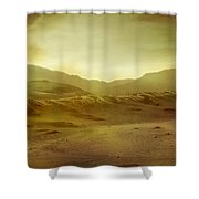 Desert Shower Curtain by Brett Pfister
