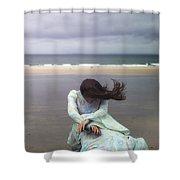 Desperation Shower Curtain by Joana Kruse