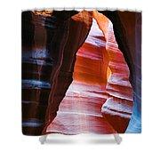 Devil's Passage Shower Curtain by Dave Bowman
