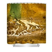 Disgusting Shower Curtain by Jean Noren