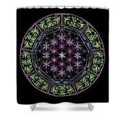 Divine Feminine Energy Shower Curtain by Keiko Katsuta