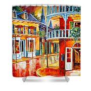 Divine New Orleans Shower Curtain by Diane Millsap
