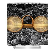 Doctor - Optometrist - Glasses sold here  Shower Curtain by Mike Savad