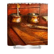 Doctor - Optometrist - I Need My Reading Glasses Shower Curtain by Mike Savad