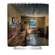 Doctors Office Shower Curtain by Adrian Evans