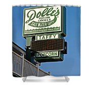 Dolle's Shower Curtain by Skip Willits