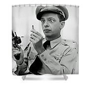 Don Knotts Shower Curtain by Mountain Dreams