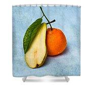 Don't Eat The Contrabass Player Shower Curtain by Alexander Senin