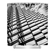 Downtown Shower Curtain by Scott Pellegrin