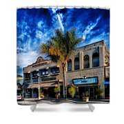 Downtown Ventura Shower Curtain by Mountain Dreams