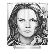 Dr. Cameron - House Md Shower Curtain by Olga Shvartsur