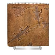 Dream Walkers Shower Curtain by Katie Fitzgerald