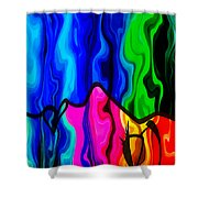 Dreaming Shower Curtain by Angelina Vick