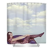 Dreaming To Fly Shower Curtain by Joana Kruse