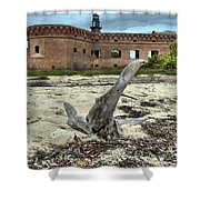 Drift Wood Seal Shower Curtain by Adam Jewell