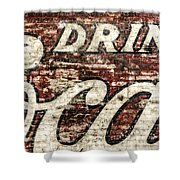 Drink Coca-cola 2 Shower Curtain by Scott Norris
