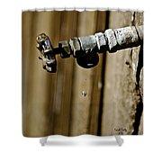 Drip...drip...drip...drip Shower Curtain by Trish Tritz