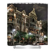 Driskill Hotel Shower Curtain by Jane Linders