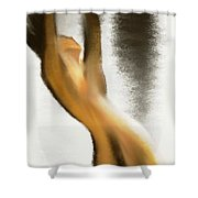 Drown in the rain Shower Curtain by Len YewHeng