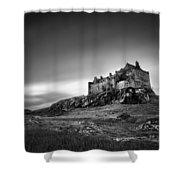 Duart Castle Shower Curtain by Dave Bowman