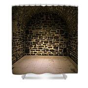Dungeon Shower Curtain by Edward Fielding