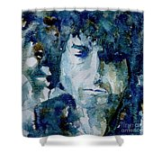 Dylan Shower Curtain by Paul Lovering