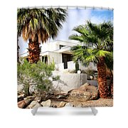 E. Stewart Williams Home Palm Springs Shower Curtain by William Dey