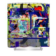 Each Positive Step Is Vital 6 Shower Curtain by David Baruch Wolk